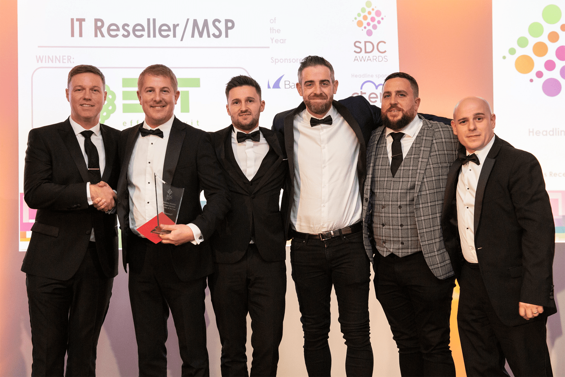 PRESS RELEASE: EfficiencyIT Win 'IT Systems Reseller of The Year' at SDC Awards 2019