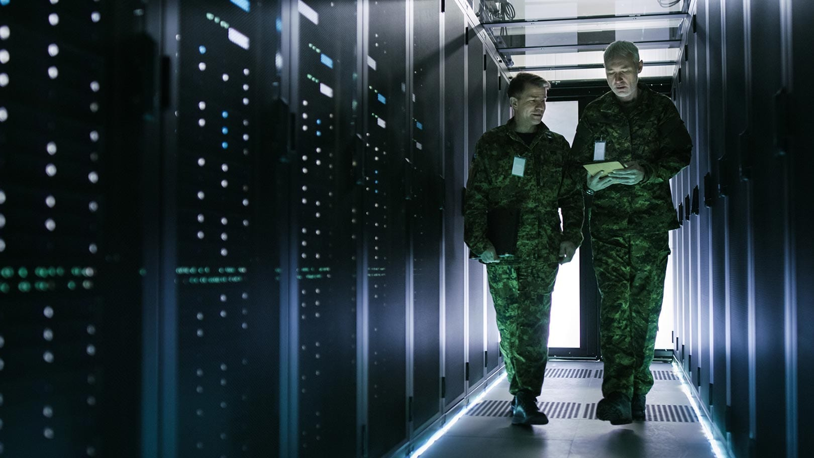 Protecting defence information